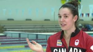 ONE-ON-ONE: Olympic swimmer Chantal Van Landeghem on retirement