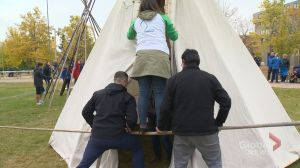 10th Glen Anaquod Memorial Tipi Raising Competition