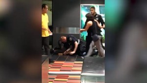 Video of STM officers arresting commuter goes viral
