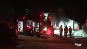 Injuries in west Edmonton house fire