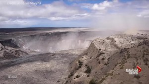 USGS drone video takes us inside Halema'uma'u crater at Hawaii's Kilauea's volcano