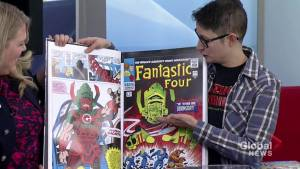Celebrating the life of Stan Lee with Amazing Stories Comics in Saskatoon