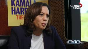 Kamala Harris accuses Trump administration of waging 'campaign of terror' against minorities