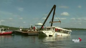 Missouri duck boat raised from Table Rock Lake