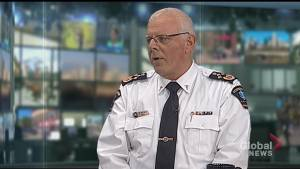 Peterborough paramedic chief Randy Mellow urges residents to consider all health care options