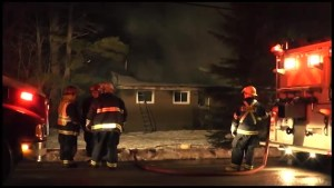Early morning house fire in Curve Lake