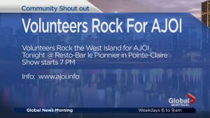 Community Events: Volunteers Rock For AJOI