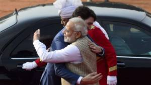 Trudeau receives warm welcome from India's Modi despite Sikh extremist controversy