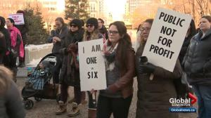 Protesters call for fertility services to be brought back to Royal Alexandra Hospital