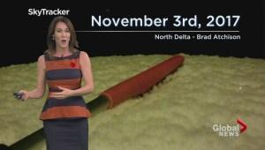 BC Evening Weather Forecast: Nov 2