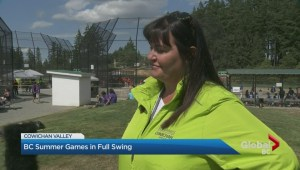 BC Summer Games in full swing in the Cowichan Valley