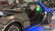 Play video: DeLorean connects Edmontonian to his past