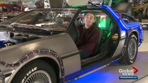 DeLorean connects Edmontonian to his past