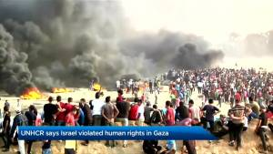 UNHCR says Israel violated human rights in Gaza