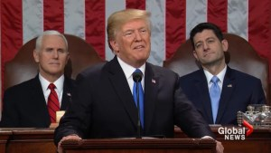 Trump calls for unity in State of the Union address as shutdown looms