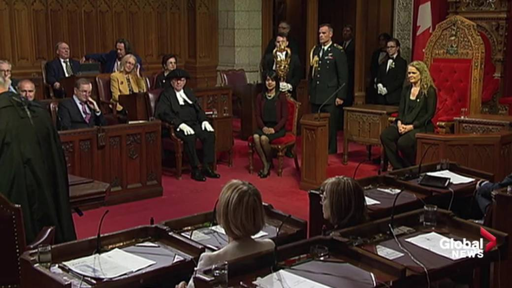 Click to play video 'Governor General presides over royal assent of the Cannabis Act'