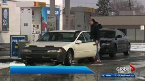 Edmonton gas prices climb