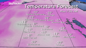 Saskatoon weather outlook: -40 wind chills return to finish February