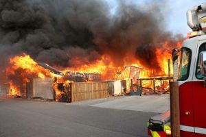 Fire in west Lethbridge