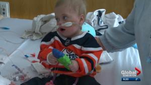 Baby boy gets new heart at Edmonton children's hospital
