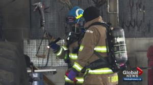 Smoking material caused southeast Calgary office fire