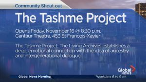 Community Events: The Tashme Project