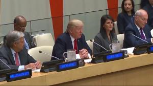 President Trump makes United Nations debut, urges organizational reform