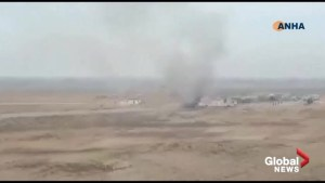 Syrian state media and war monitoring group reporting explosion in Hassakeh, Syria