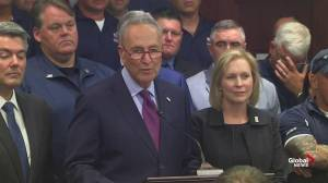 Chuck Schumer reacts after 9/11 compensation bill passes: 'Righteousness sometimes prevails in this mangled town'