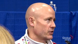 Canada's Kevin Koe speaks about loss to Sweden in curling championship