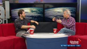 "Storm chaser and host of ""Angry Planet"" George Kourounis in Edmonton"