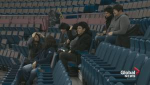 Travelling Jagrs bring their mullets to Oilers vs. Panthers practice