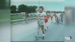 Terry Fox inducted to the Manitoba Runners Association Hall of Fame