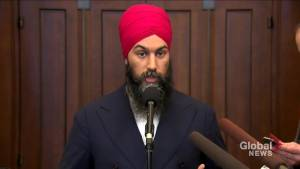 Jagmeet Singh reacts to Quebec secularism bill: 'I remember what it's like to feel I don't fit in' (00:49)
