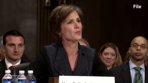 Former U.S. AG Yates to testify on Russian interference in 2016 presidential election
