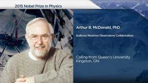 What Nobel Prize means to Queen's professor