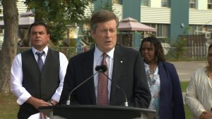Tory announces TCHC pilot project to deal with $2.6 billion backlog