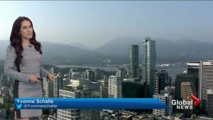 B.C. evening weather forecast: May 28