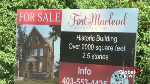 Historic town office for sale in Fort Macleod, Alta.