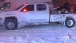 GTA snowstorm impacts tow trucks, transit, evening commuters and pedestrians