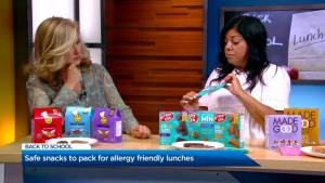 Allergy friendly school lunches