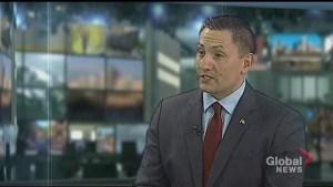 Haliburton-Kawartha Lakes-Brock MP Jamie Schmale talks about the federal carbon tax