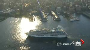 Controversial Northwest Passage cruise ship arrives in NYC