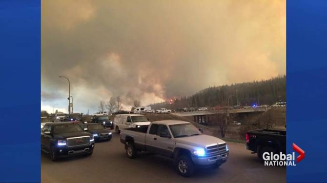 All of Fort McMurray evacuated as wildfire intensifies