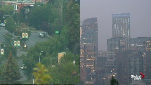 Poor air quality returns to Calgary
