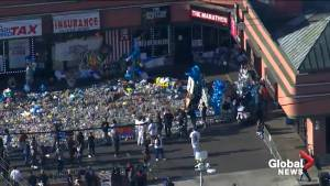 Nipsey Hussle funeral: Massive memorial forms outside late rapper's store