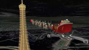 Santa tracker update: Santa flies over Paris