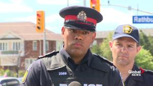 Mississauga police asks residents to hand in any evidence; working on paper discovered