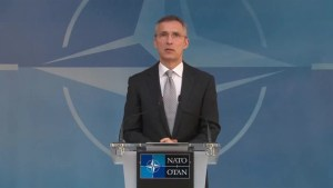 NATO head 'deeply saddened' by Brussels attack