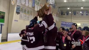 Marjory Stoneman Douglas varsity hockey team wins state championship after school shooting